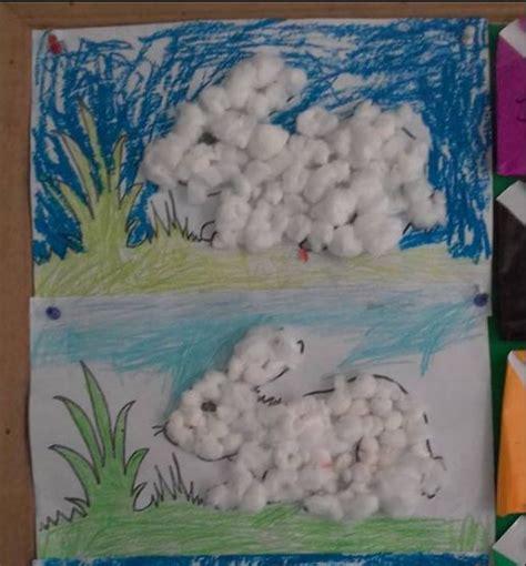 cara membuat montase untuk anak sd membuat kolase untuk anak sd kreasi kolase kelinci berbulu