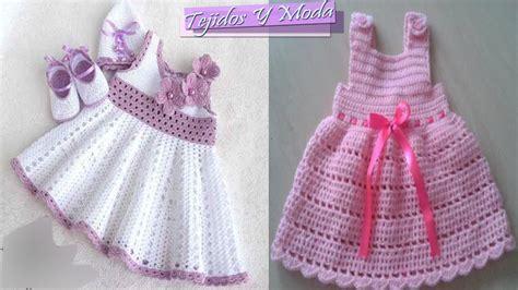 vestiditos crochet nia vestidos para bebe ni 241 a con patrones tejidos a crochet