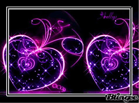 imagenes de corazones en movimiento corazones morados picture 130652121 blingee com