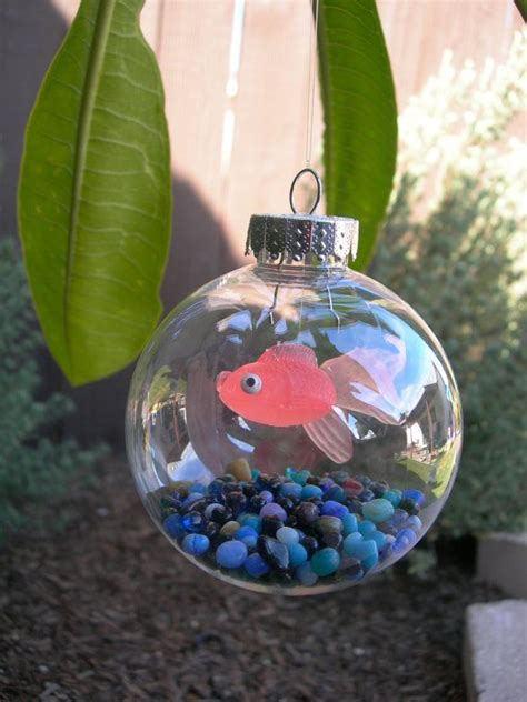 christmas ornaments to make with oreschool boy tree fish tank ornament omg the are going to these for the