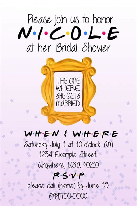 inviting friends for wedding invitation friends themed invitation 2436485 weddbook