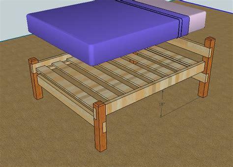 simple queen bed frame simple queen bed frame by luckysawdust lumberjocks