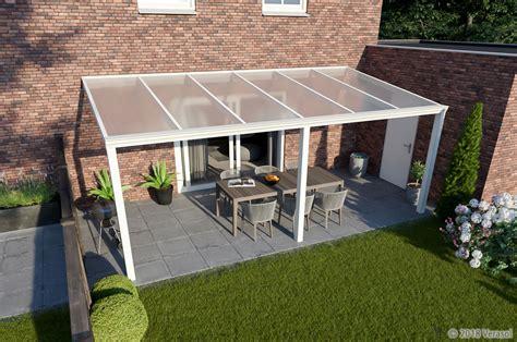 veranda 6 meter breed veranda wit 6000x4000 polycarbonaat breuer veranda s nl