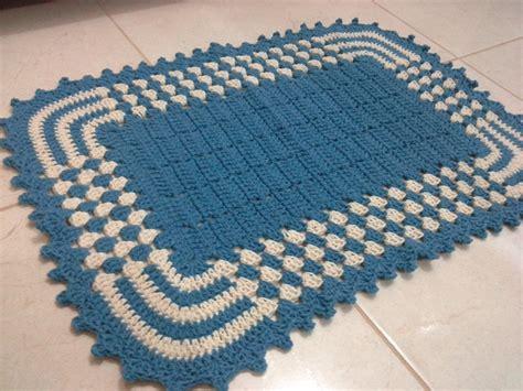 tapetes de croche b43964 tapetes de crochaa pictures to pin on tapete bicolor dani croch 234 s elo7