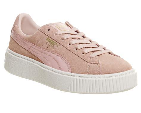 Platform Pink suede platform pink consumabulbs co uk