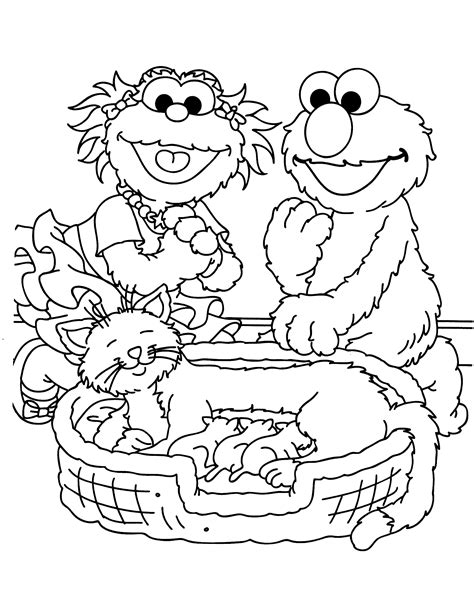 printable coloring pages sesame street sesame street coloring pages faces coloring pages