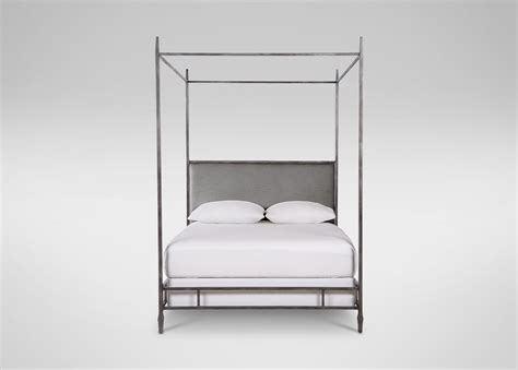 ethan allen upholstered beds lincoln upholstered poster bed beds