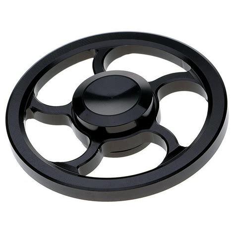 Fidget Spinner Dbs 02 Metal Aluminium Spinner aluminium wagon wheel fidget spinner metallic black