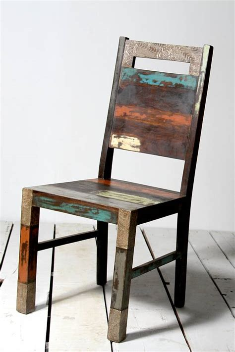upcycled dining room chairs upcycled dining chair by tree furniture