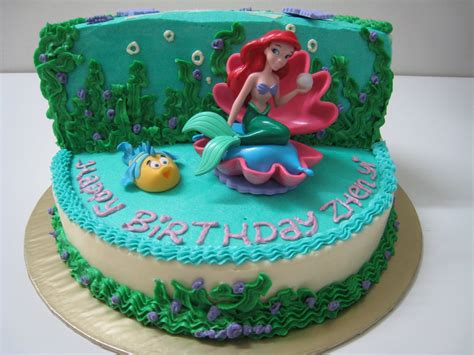 Ariel Cake Decorations just celebrate cakes the mermaid ariel
