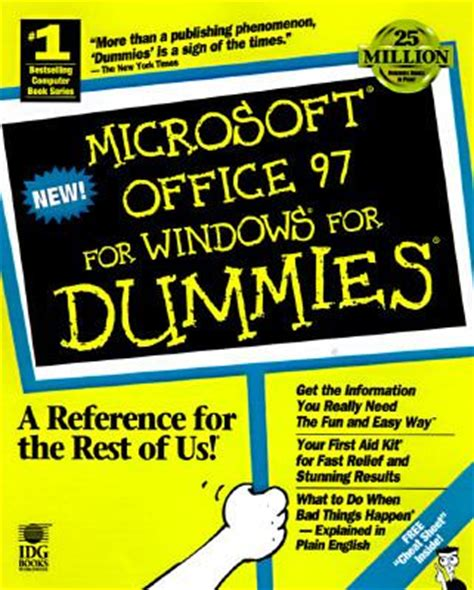 Microsoft Office For Dummies by Microsoft Office 97 For Windows For Dummies Rent