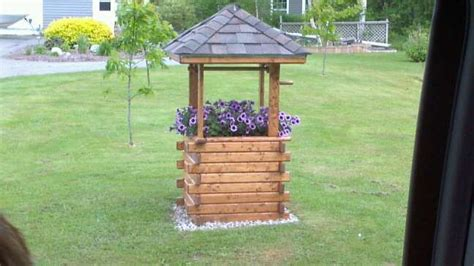 Garden Wishing Well Planter by Diy Wishing Well Planter For The Garden