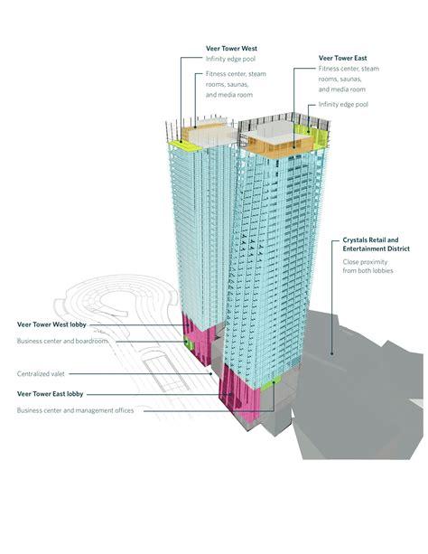 Las Vegas Floor Plans Gallery Of City Center Las Vegas 6 Leed Gold