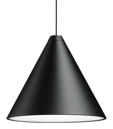 String Light Cone Pendant Cone Black By Flos