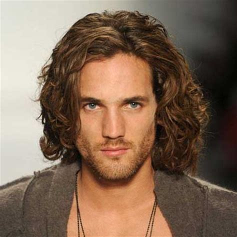 Mens long hair style superstarhairstyles com