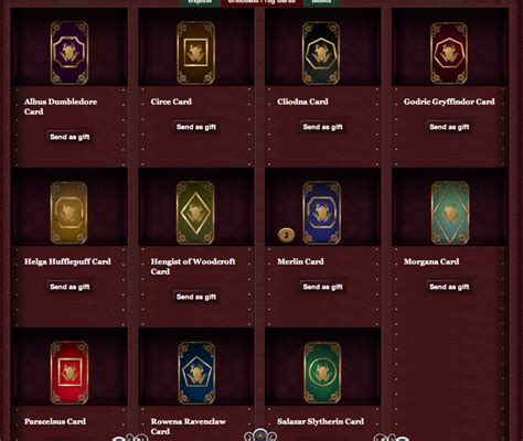 Chapters Gift Card Number Location - chocolate frog cards pottermore wiki fandom powered by wikia