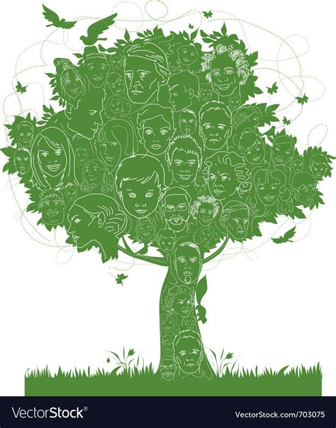 Ancestry Tree Stock Images Royalty Free Images Vectors Family Tree Royalty Free Vector Image Vectorstock