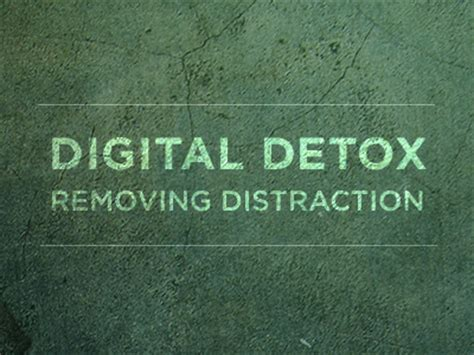 Digital Detox Reddit by Digital Detox On Removing Distractions And Getting The