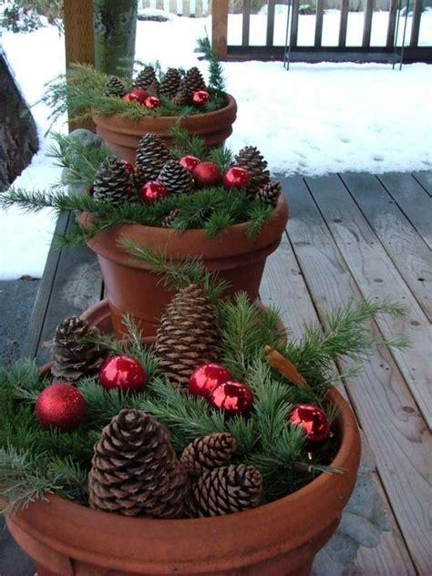 decoracion de navidad  jardines  patios  fotos