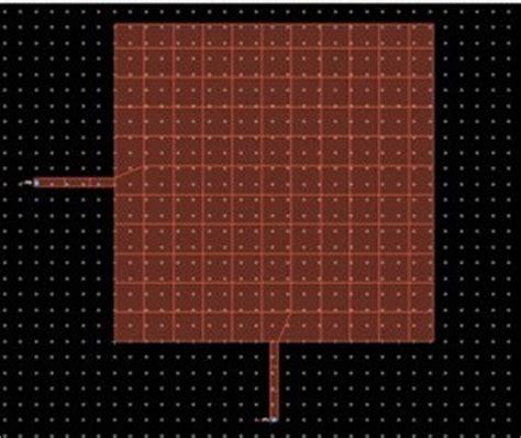 design   micro strip patch antenna  dual feed