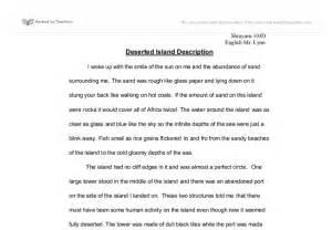 Stranded On A Desert Island Essay by Deserted Island Description Gcse Marked By Teachers