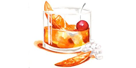 old fashioned cocktail drawing old fashioned cocktail clipart collection