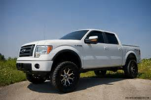 Truck Wheels White White Truck Black Rims Ford F150