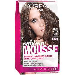 loreal hair color mousse l oreal sublime mousse hair color walmart