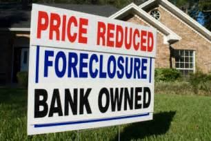 Bank owned foreclosed homes