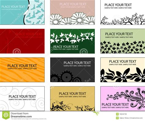 editable business card templates free free editable printable business card templates 28