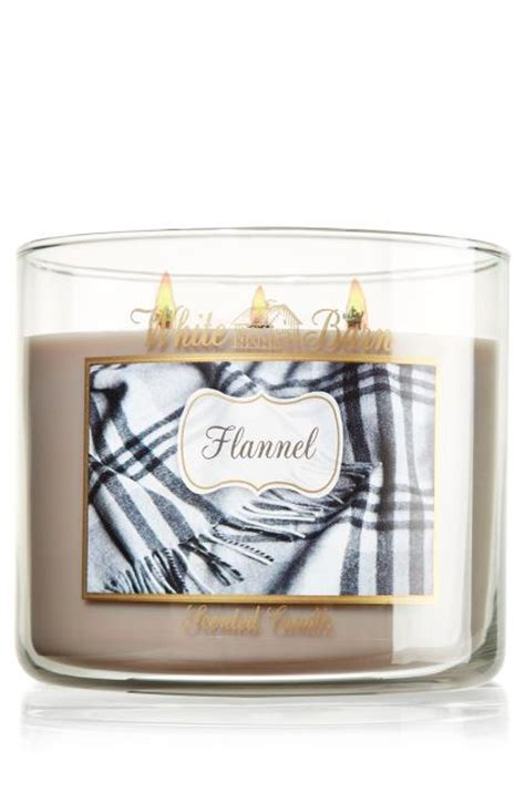 List Of Handmade Products - flannel 14 5 oz 3 wick candle slatkin from bath