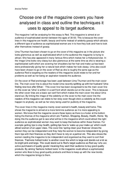 Ads Essay by Magazine Analysis Essay
