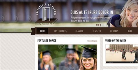 drupal themes education free 11 free drupal themes templates free website templates