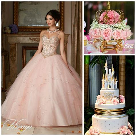 princess themed quinceanera decorations blush pink princess theme for more ideas click link in