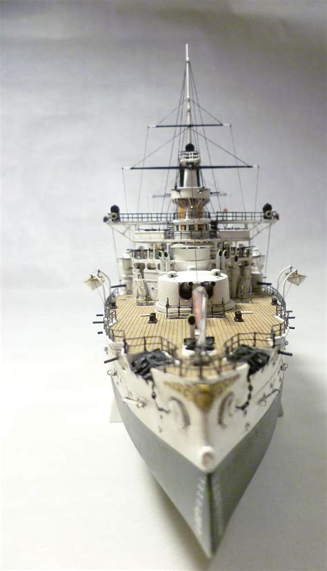 Handcrafted Model Ship - model battleship retvizan in scale 1 350 model kits