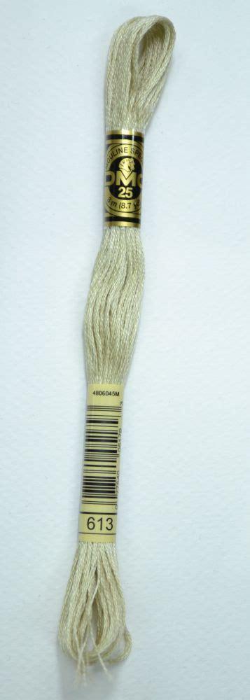 Benang Dmc 117 613 Light Drab Brown dmc stranded cotton embroidery floss colour 613 light drab brown