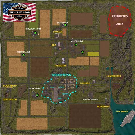 ogf usa map fs 15 ogf usa v 1 0 maps mod f 252 r farming simulator 15