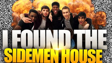 ksi house i found the sidemen house ksi w2s miniminter behzinga tobi zerkaa youtube