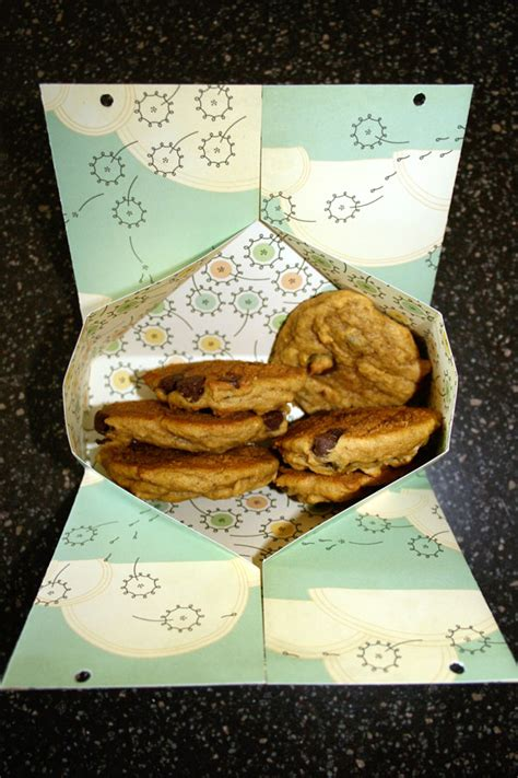 How To Make A Cookie Box Out Of Paper - mailout express gift box out of one 12x12 cardstock