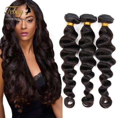 loose wave braiding hair 7a unprocessed brazilian virgin hair loose wave 3pcs lot