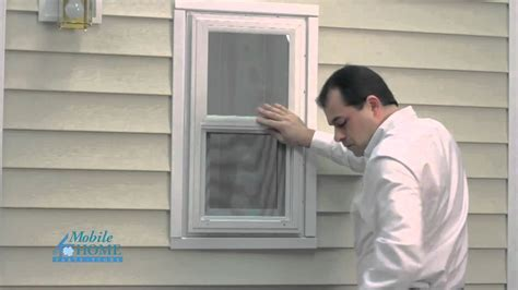 diy vinyl exterior window installation mobile home pa