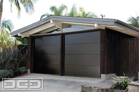 Mid Century Modern Garage Doors by Mid Century Garage Door For A Cliff May S Modern Rancho