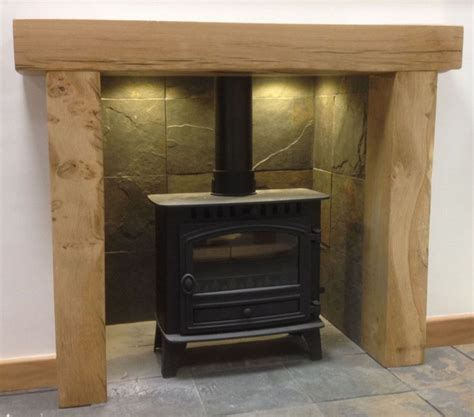 rustic oak surround search fireplaces