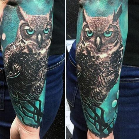 owl tattoo background 100 realistic tattoos for men realism design ideas