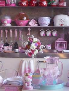 Attractive Hello Kitty Room Decorating Ideas #2: Cute-kitchen-sets-with-hello-kitty-themes.jpg