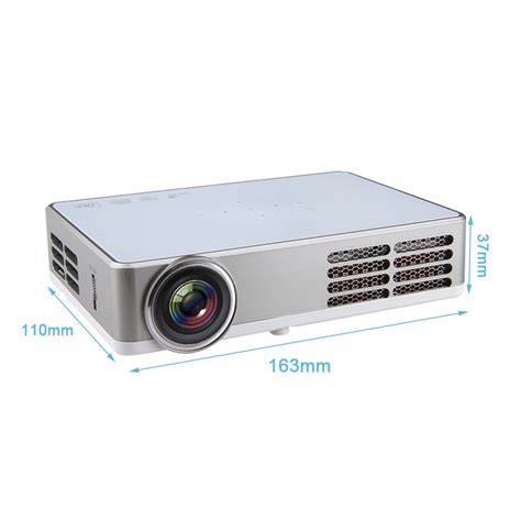 Proyektor Android 1080p wireless wifi dlp projector android 4 4 3d touch