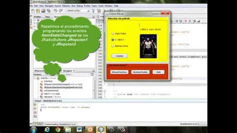 java swing design uso ejemplo jradiobutton radiobutton java swing gui