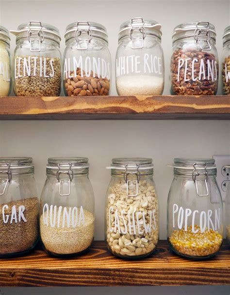 storage jars kitchen 25 best ideas about kitchen jars on organized