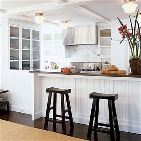 wainscoting kitchen cabinets wainscoting under bar home remodeling pinterest
