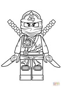 coloring pages ninjago lego ninjago green coloring page free printable